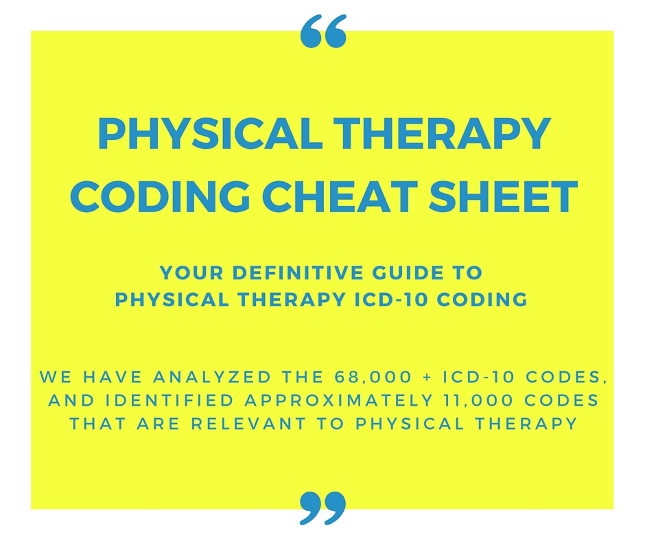 physical therapy cpt codes everything you need to know rh intouchemr com Physical Therapy Coding Cheat Sheet Physical Therapy Coding Cheat Sheet