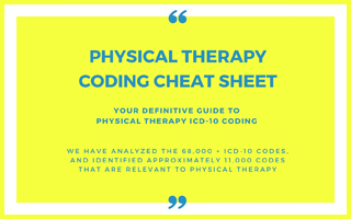 Definitive Guide to Physical Therapy ICD-10 Coding