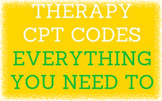 Physical Therapy CPT Codes – Everything You Need to Know