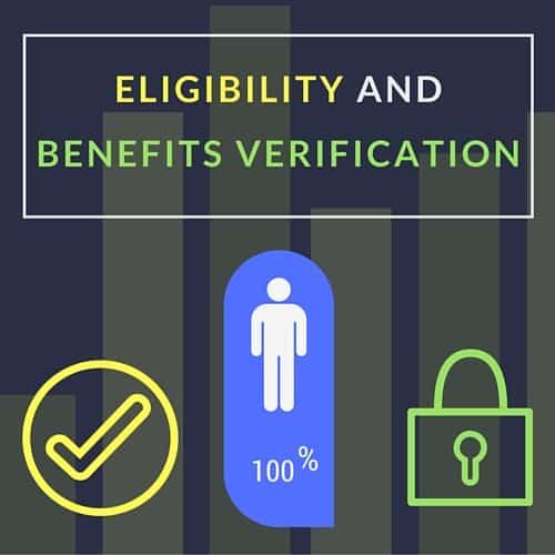 Eligibility and Benefits Verification